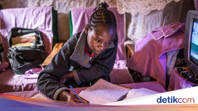 Semangat Belajar Anal-anak Kenya di Tengah Pandemi