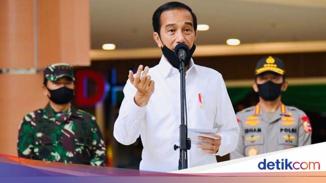 Perintah Jokowi Lacak Corona Betul-betul, Jangan L