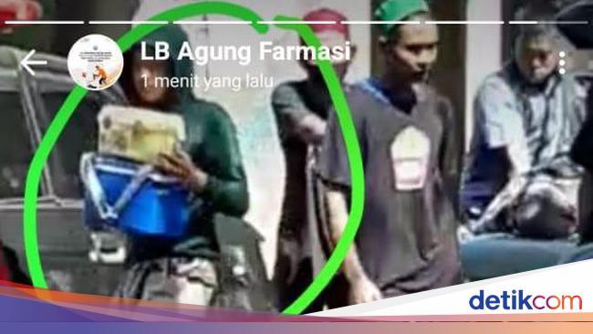Identitas Dikantongi, Pencuri Cool Box Sampel Pasi