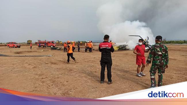 Fakta-fakta Helikopter TNI AD Jatuh di Kendal