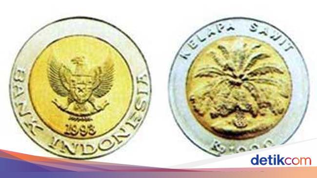 Gambar Uang Koin 500 Rupiah Terbaru Viral Uang Koin Rp 1 000 Kelapa Sawit Dijual Ratusan Juta