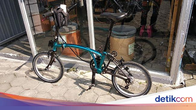 Kreuz, Sepeda 'Brompton' Made in Bandung