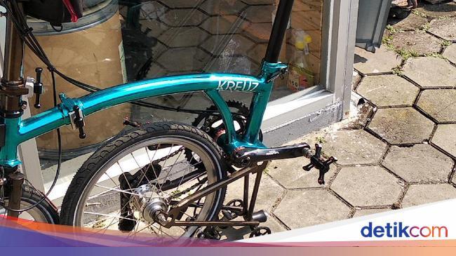 Mengenal Sepeda Kreuz, 'Brompton' Made in Bandung yang