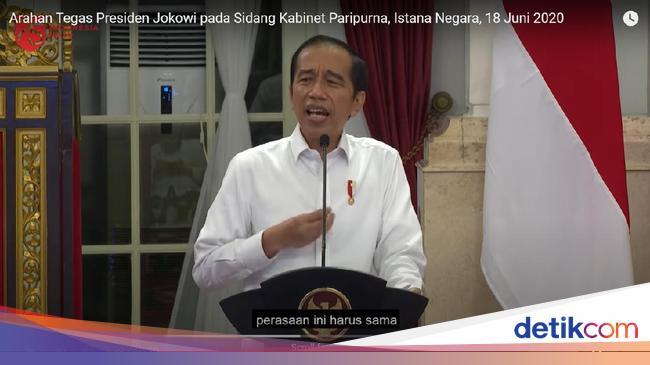 Video Jokowi Marahi Menteri Lalu Bicara Reshuffle Dinilai Punya 3 Tujuan