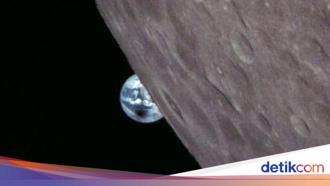 Seperti Ini Gerhana Bulan Jika Dilihat dari Bulan