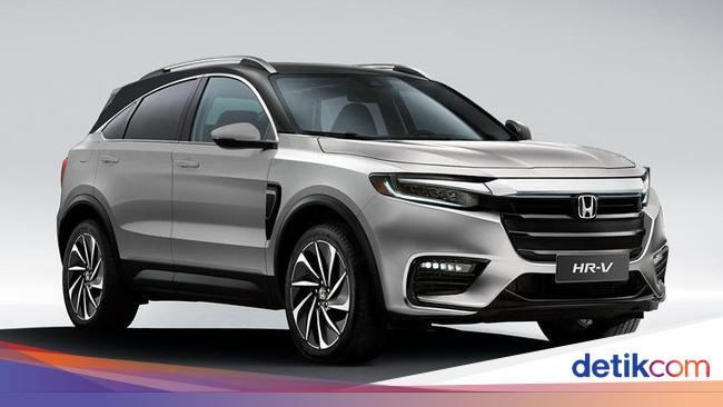 Setuju Enggak Kalau Desain Honda Hr V Terbaru Seperti Ini