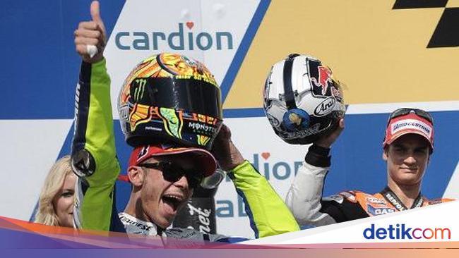 MotoGP Ceko: Valentino Rossi Paling Sering Menang