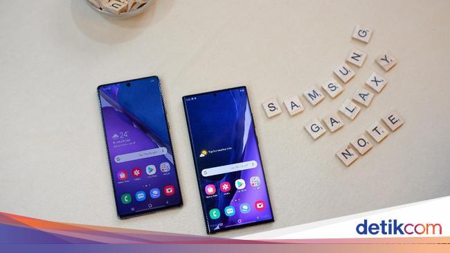 Ini Spesifikasi Galaxy Note 20 dan Galaxy Note 20