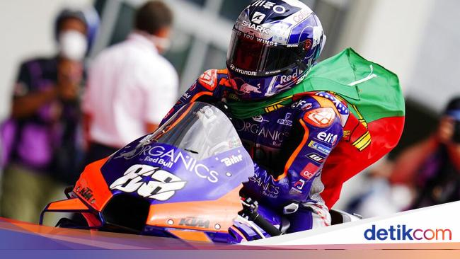 Portuguese Rider Of History Carver At Motogp World Today News