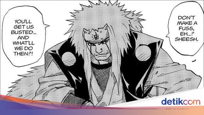 Ini Penampakan Pertama Jiraiya Di Manga Naruto 19 Tahun Yang Lalu