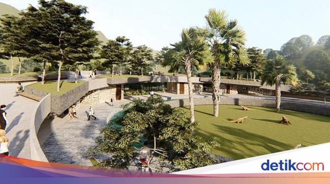 Ini Desain Jurassic Park di Pulau Rinca - Foto 6