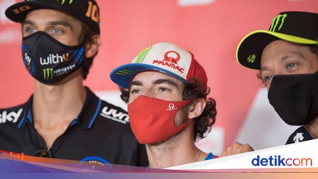 Asapi Rossi di San Marino, Bagnaia: Kami Masih Berteman, kok!