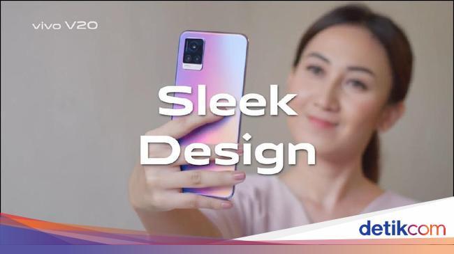 Punya Desain Stylish, Vivo V20 Usung Video Selfie