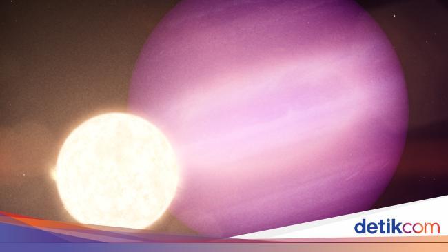 Hii... Planet Ini Mengorbit Pada Bangkai Bintang