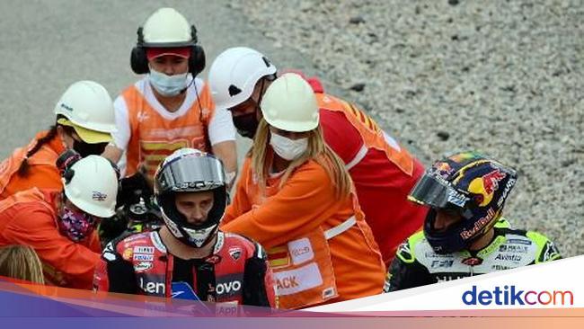 Bawa Jatuh Andrea Dovizioso, Ini yang Dirasakan Jo