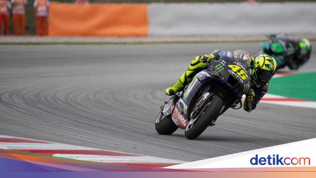 Valentino Rossi Salahkan Diri Sendiri