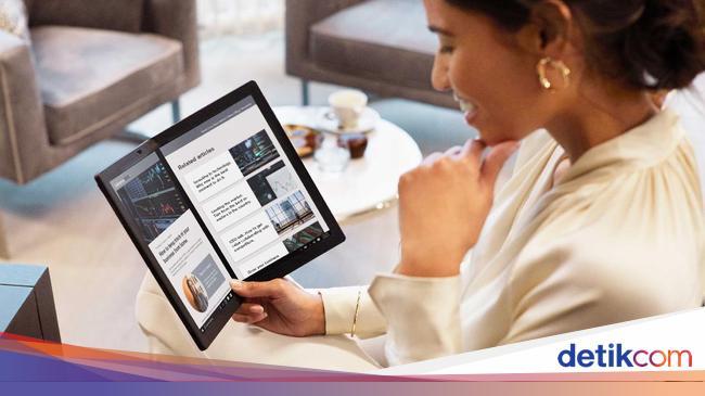 Ini Harga Laptop Layar Lipat Lenovo ThinkPad X1 Fo