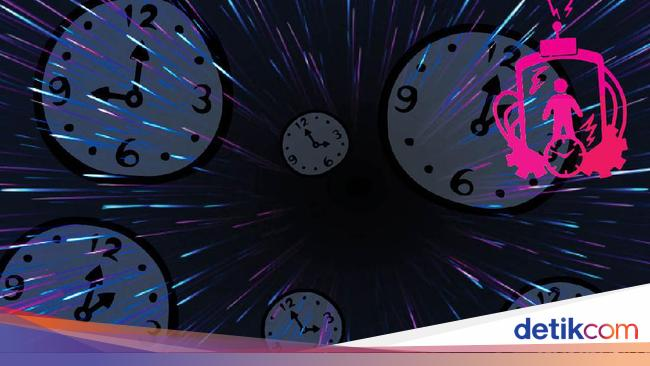 Mesin Waktu Ada Hitungan Matematikanya