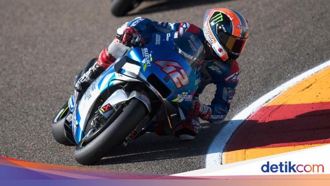Hasil MotoGP Aragon: Alex Vs Alex, Rins Kalahkan Marquez