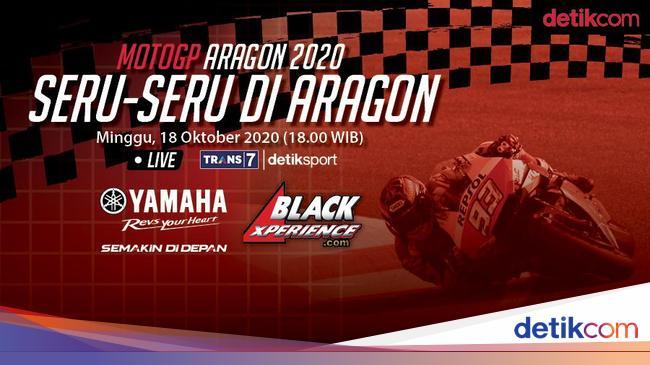 MotoGP 2020: Siap Seru-seruan di Aragon
