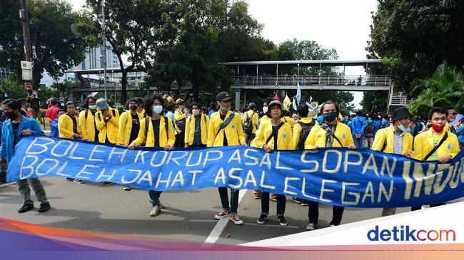 BEM SI Finalisasi Rencana Demo di Jakarta Saat Hari Sumpah Pemuda