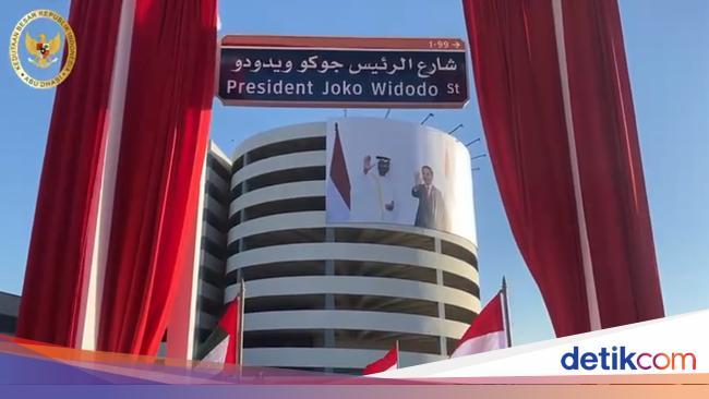 Cerita dan Harapan di Balik Nama Jalan Presiden Joko Widodo di Abu Dhabi