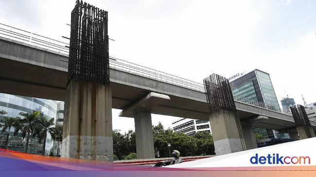 ADHI Besi Tiang Monorel Jakarta Dicuri, Ada Kajian Mau Dibangun Skywalk