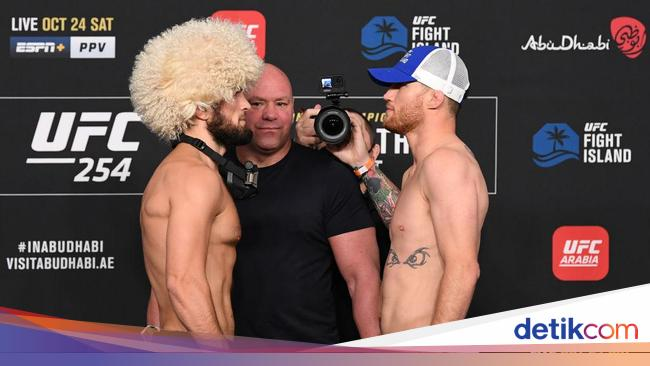 Khabib Nurmagomedov Vs Justin Gaethje: Nothing But