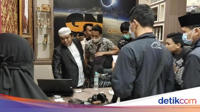 Penampakan Gus Nur Saat Ditangkap di Malang karena