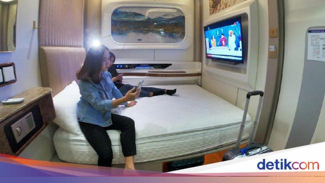 Sensasi Menginap di Kamar Kapal Pesiar Mewah di Jantung Kota Bandung