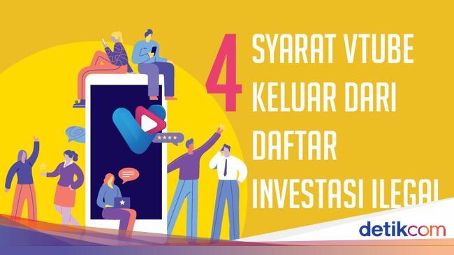 4 Syarat Vtube Keluar dari Daftar Investasi Ilegal