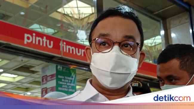 Anies Sebut Genangan di Kemang-Sudirman Dampak Air Kiriman Depok