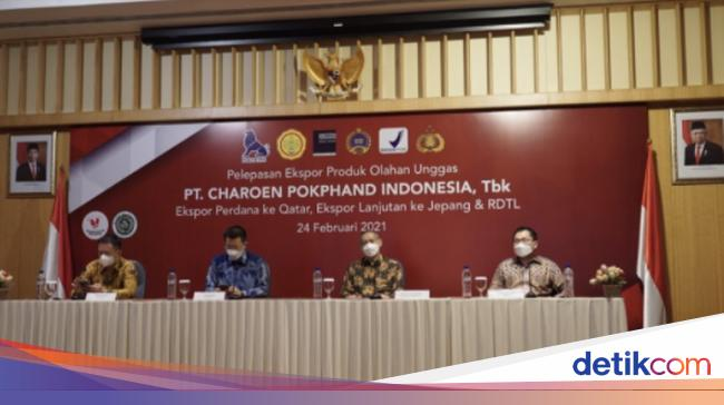 CPIN Perdana, Charoen Pokphand Ekspor 3,6 Ton Olahan Unggas ke Qatar