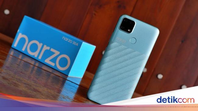 Spesifikasi dan Harga Realme Narzo 30a di Indonesi