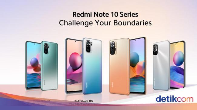 Spesifikasi dan Harga Redmi Note 10 Series yang Re