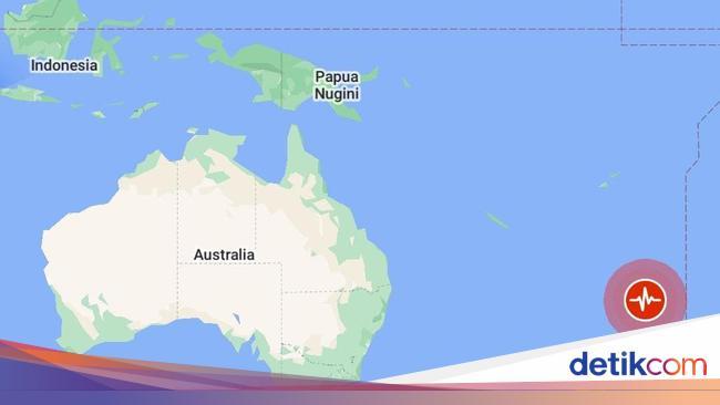 Ini Titik Gempa M 8,1 yang Picu Alarm Tsunami di K