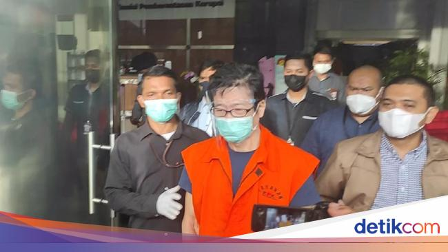 Detik-detik Crazy Rich Samin Tan Ditangkap KPK Saat Lagi Ngopi-ngopi di Kafe