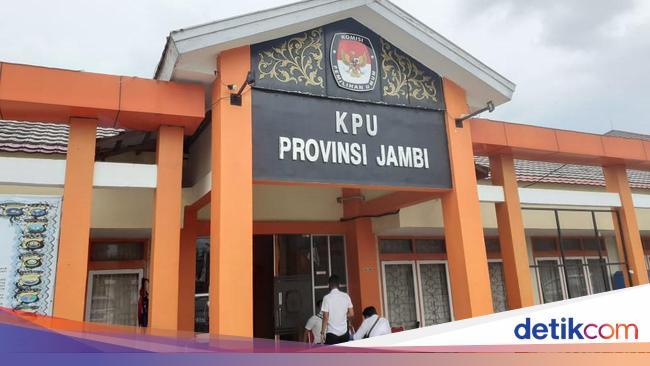 KPU Tetapkan PSU Pilgub Jambi di 88 TPS Digelar 27 Mei