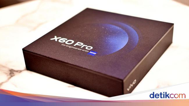 Unboxing Vivo X60 Pro, HP Kamera Bergimbal Rp 10 J