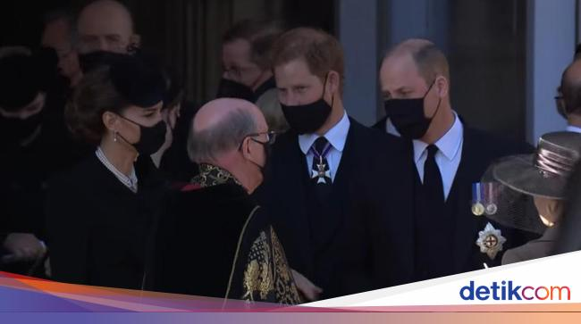 Obrolan Pangeran William ke Pangeran Harry di Pema