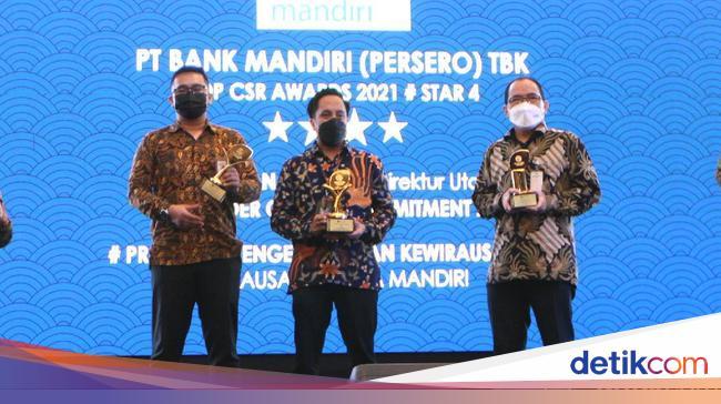 Momen Anugerah Program CSR Terbaik 2021