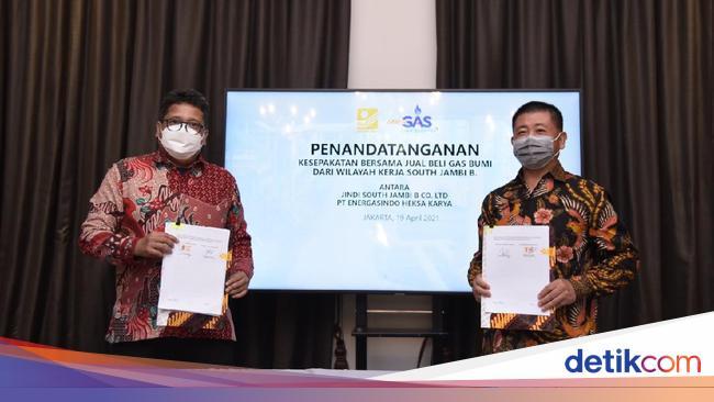 RAJA Anak RAJA Amankan Alokasi Gas di Sumatera