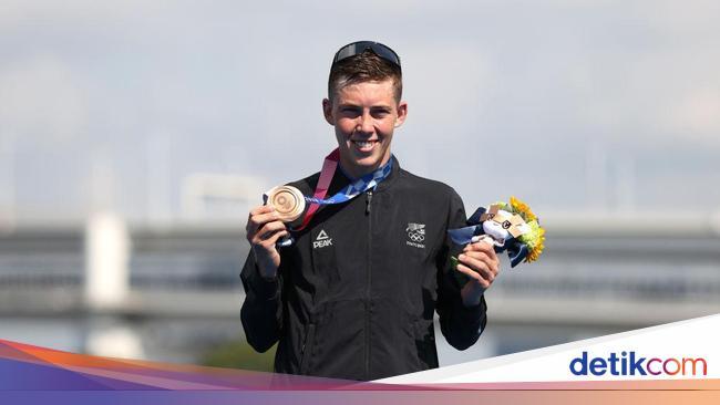Atlet Triathlon Dapat Medali Perunggu di Olimpiade, Mantan Pacar Menyesal Putus