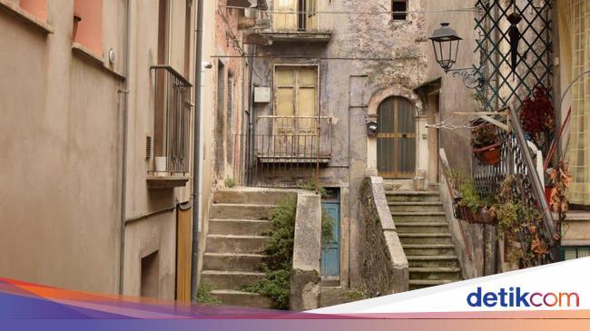 Potret Rumah Murah di Kota Pratola Peligna Italia