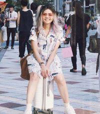 Jalan-jalan di Jepang, Rambut Baru Rina Nose Bagus ya?