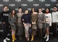 Gaya Sederet Selebriti di Opening Store `Fendi` Elegan Banget!