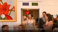 Foto-foto Momen Kebahagiaan Siti Badriah Saat Dilamar Krisjiana Baharudin