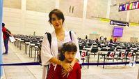Bangganya Ussy Sulistiawaty, Putrinya Ikut Kejuaran Matematika Tingkat Dunia