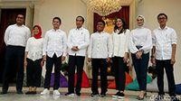 Wow! 7 Anak Muda Ini Jadi Staf Khusus Jokowi
