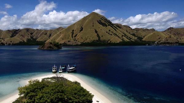 Yori mengatakan Wisata Jurassic di Pulau Rinca, adalah salah satu KSPN andalan untuk memfasilitasi kunjungan turis yang semakin lama semakin banyak, 10 tahun lalu tidak terlihat 1 kapal Cruise Lintas Benua yg melintas. Agung Pambudhy/detikcom